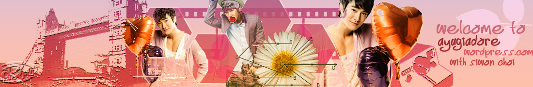 Design] Header Siwon Choi For Bouquet Theme