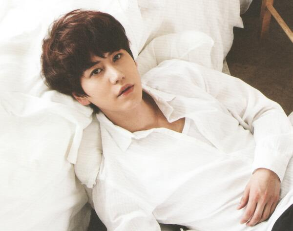 kyu white shirt